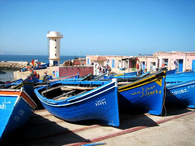 port de pêche maroc