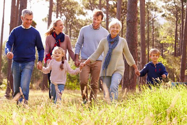retraite et famille