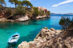 Cala Fornells en Espagne