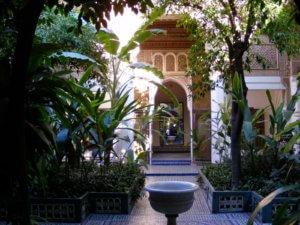 Marrakech Palais de la Bahia
