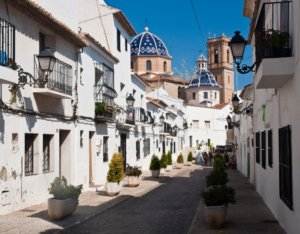 Altéa en Espagne